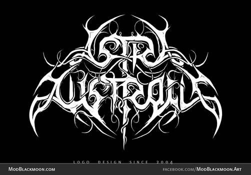 Astra Australis - Black Metal Logo Design