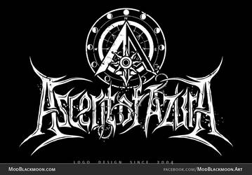 Ascent of Azura | Metal Band Logo by modblackmoon
