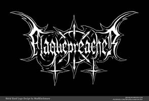 Plaguepreacher | Black Metal Logo