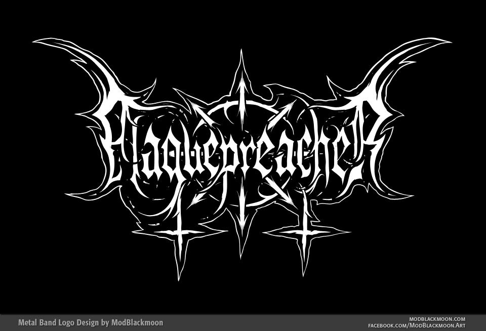 Plaguepreacher   Black Metal Logo