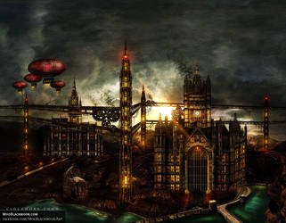 Clockwork Town | Metal Album Artwork