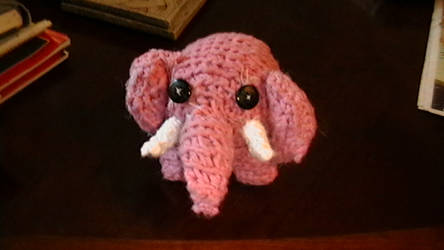 Pink Elephant on Parade by Laura-the-animator