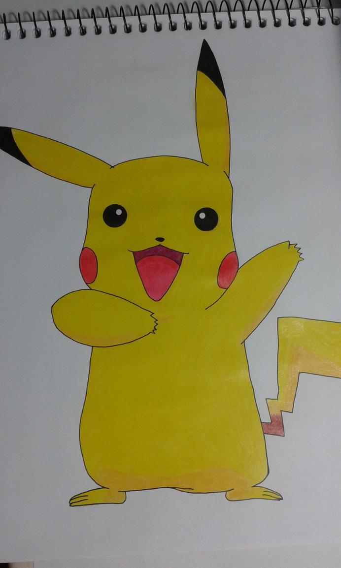 Pikachu by Chrona-sama