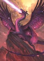 Dragon! by MelvinChanArt