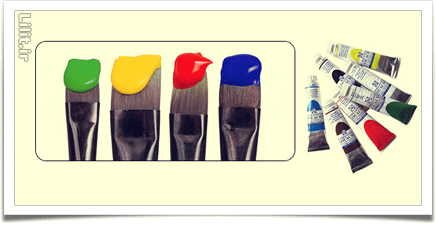 انتخاب رنگ روغن مناسب نقاشی