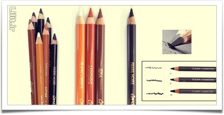 همه چیز دربارهٔ مداد کنته طراحی