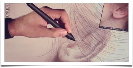 مراحل تصویری یک نقاشی دیجیتال از 0 تا 100