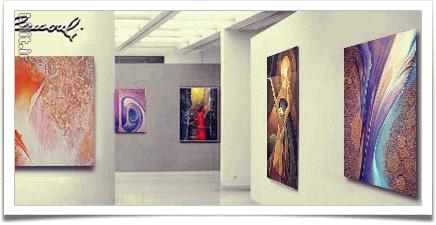 راهنمای رزرو گالری جهت برگزاری نمایشگاه نقاشی