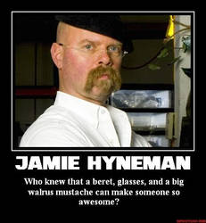 Jamie Hyneman by Superstrider