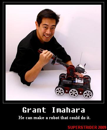 grant imahara robot