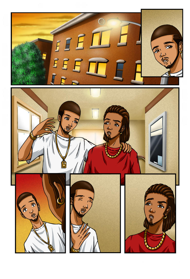 Comic page 1 by TLS10