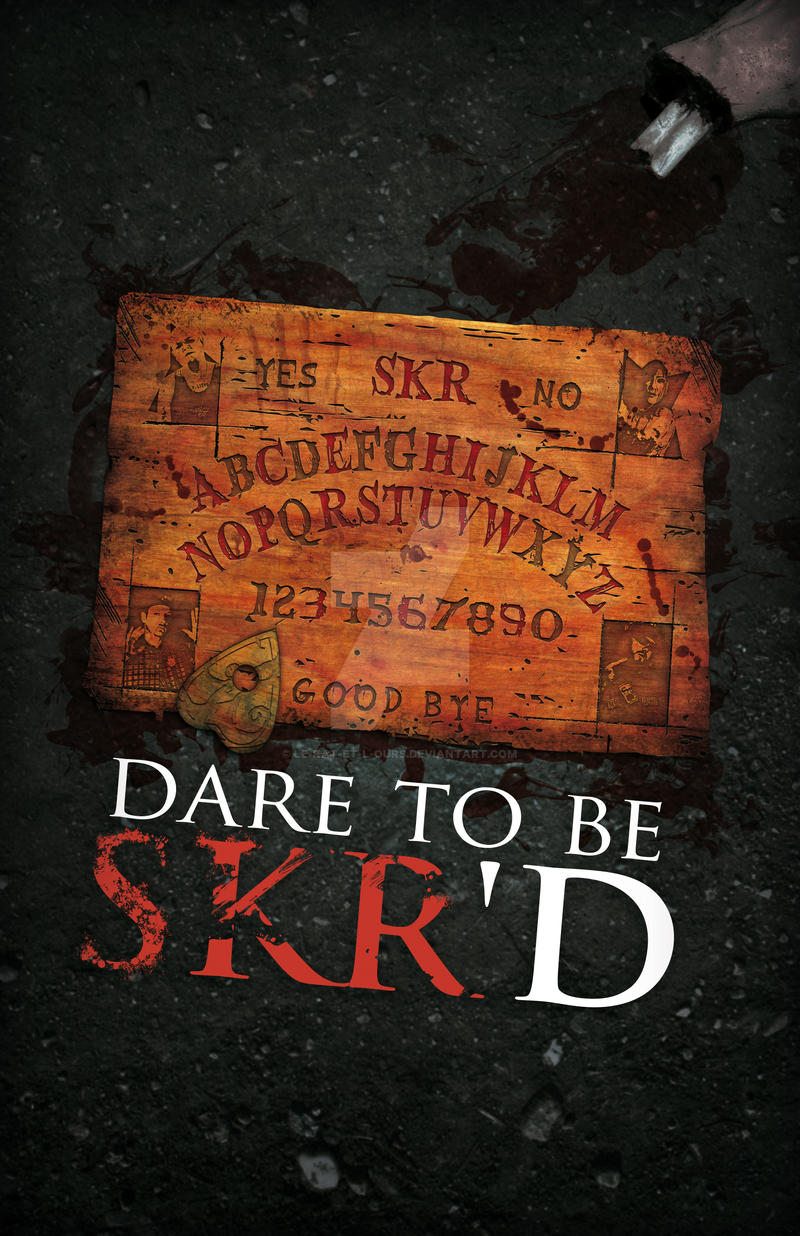 Dare To Be SKR'D by le-rat-et-l-ours