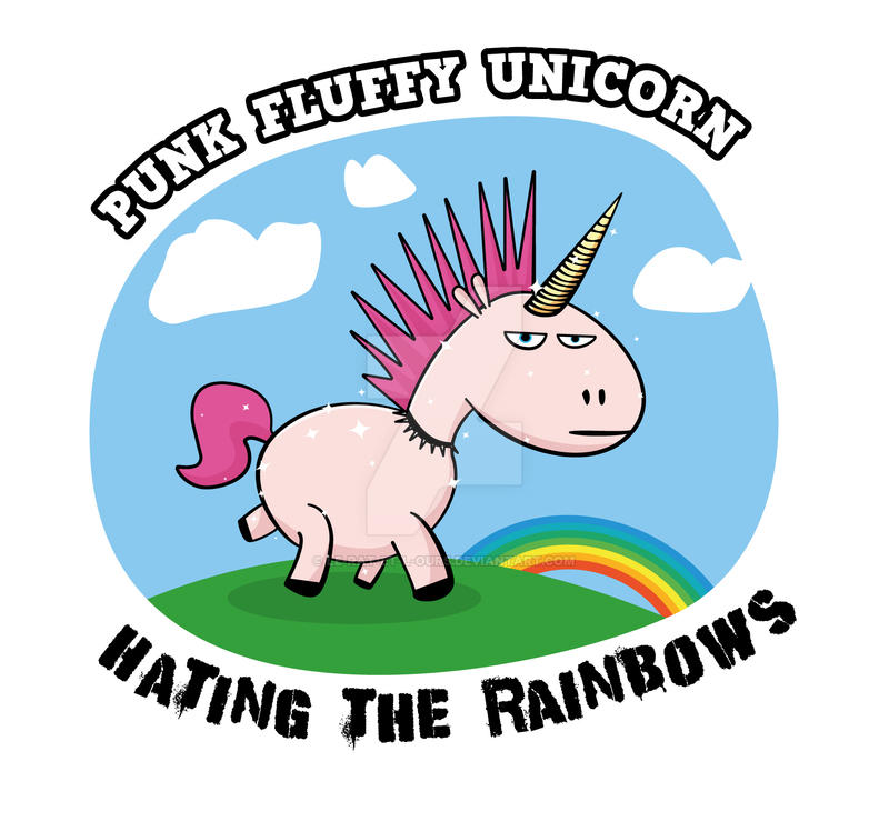 Barry The Unicorn by le-rat-et-l-ours