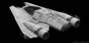 Incom I22 Shrike - Star Wars Fighter WIP 2