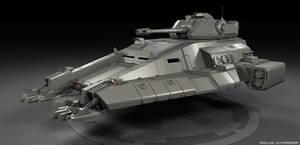 Imperial Repulsorlift Tank WIP