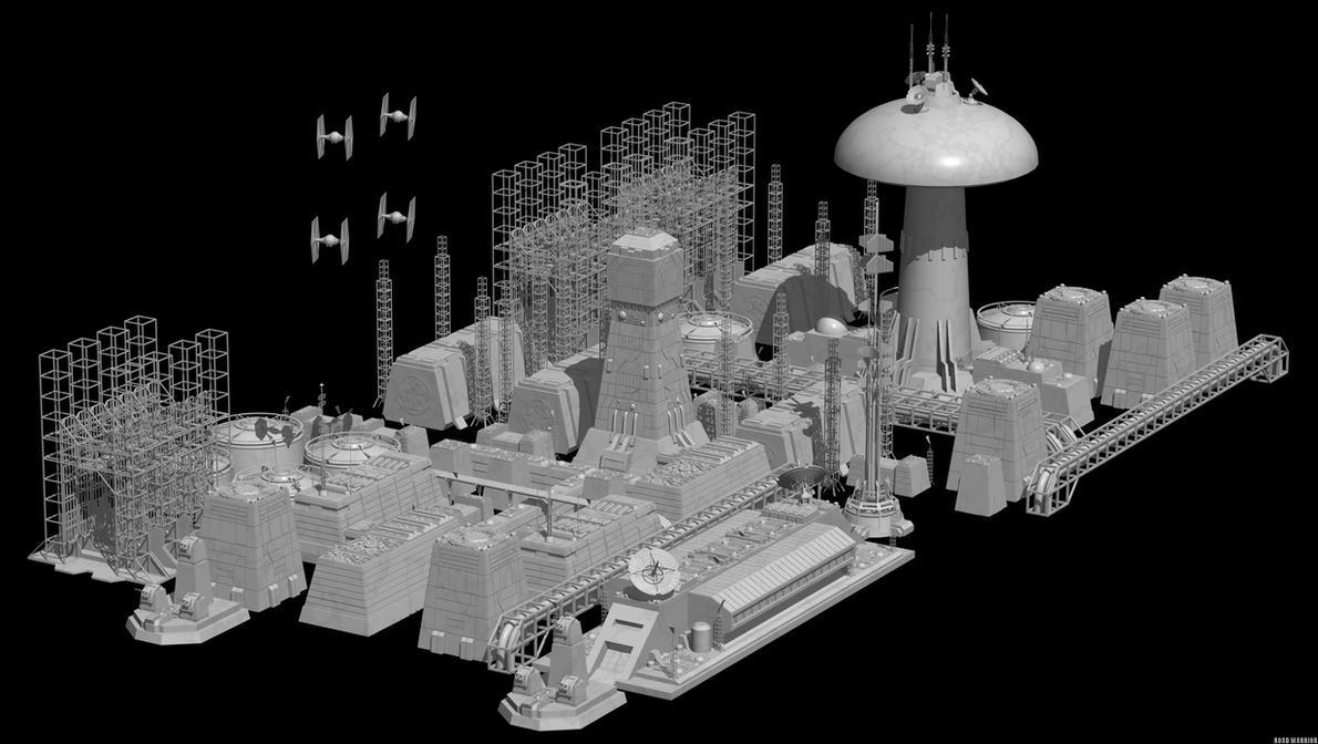 Imperial Contruction Base - Balmora by RoadWarriorZ44