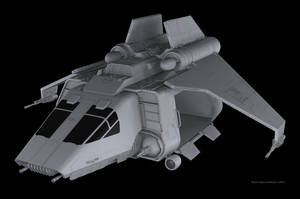 Imperial Troop Transport WIP by RoadWarriorZ44