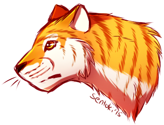 PA/R: Golden Tabby Tigahh by SentokiTheLoneWolf