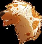 Lion Yeti Headshot by SentokiTheLoneWolf