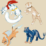 Chara Sketch Page by SentokiTheLoneWolf