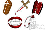 Vampire icons by SireaSis