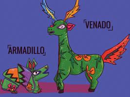 Venado and armadillo ability explanation.