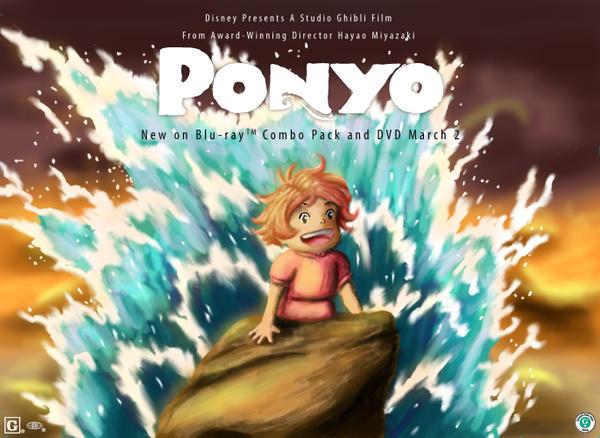The Little Ponyo by tgbijn