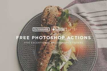 Free Photo Actions by FilterGrade + Foodie's Feed
