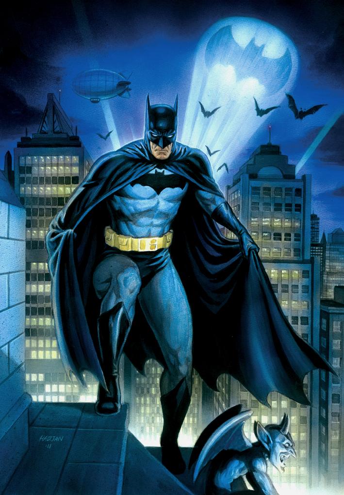 Dc Comics Fans : Batman on a rooftop by habjan deviantart