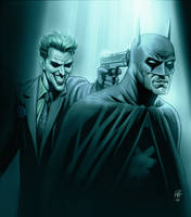 Batman and the Joker by Habjan81