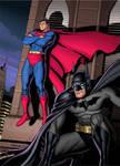Superman and Batman 2 Colour