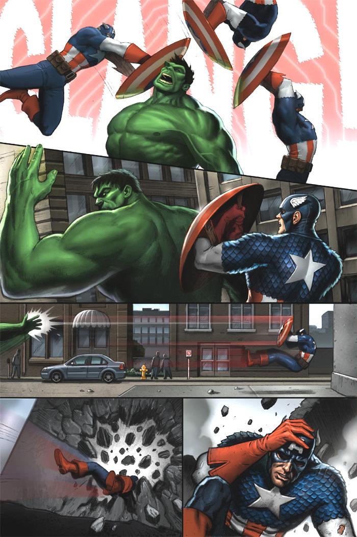 Hulk Slaps Cap by Habjan81