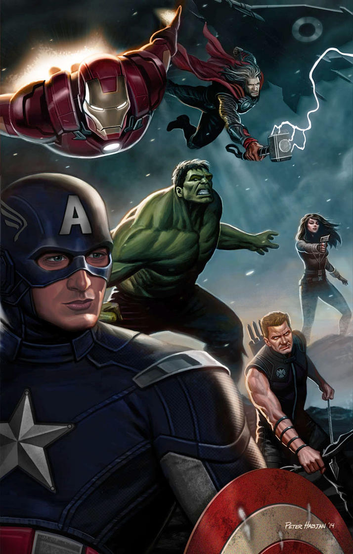 Avengers Digital by Habjan81