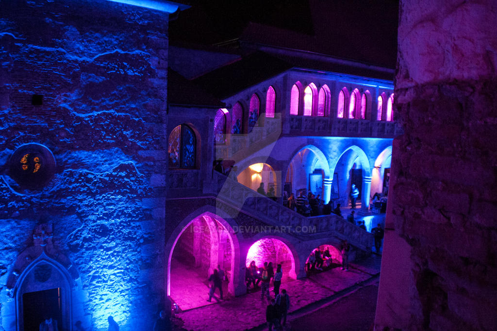 Medieval Castel in colors 3 by ice4you