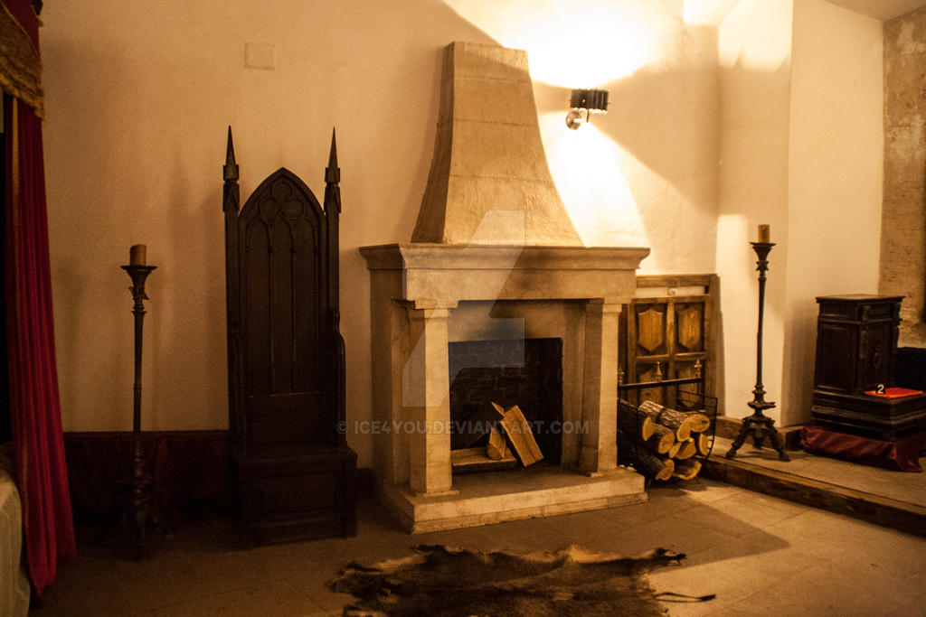 Medieval fireplace by ice4you