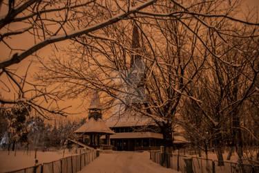 Winter classic scene