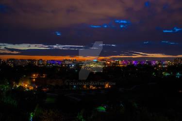 Big city colors @ night