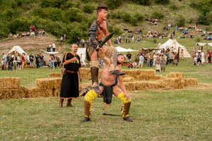 Daco-roman fight tehnique
