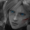 Cloud Strife Blue Eyes by CaliforniaBabeWV