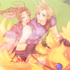 CloudxAerith Choco Ride icon by CaliforniaBabeWV