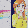 Orihime Icon Rainbow by CaliforniaBabeWV