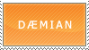 Daemian Stamp by caliwings