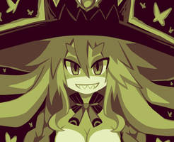 the great swamp witch by Nami-Tsuki
