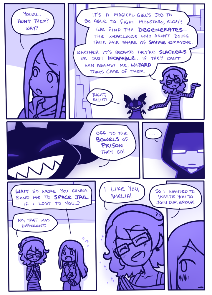 How I Loathe Being a Magical Girl - Page 52 by Nami-Tsuki