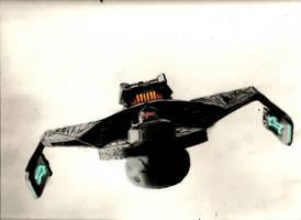 Klingon Battlecruiser by Noble--6