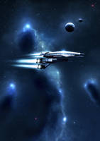 Mass Effect Normandy by Noble--6