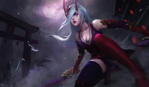 LOL Blood Moon Katarina