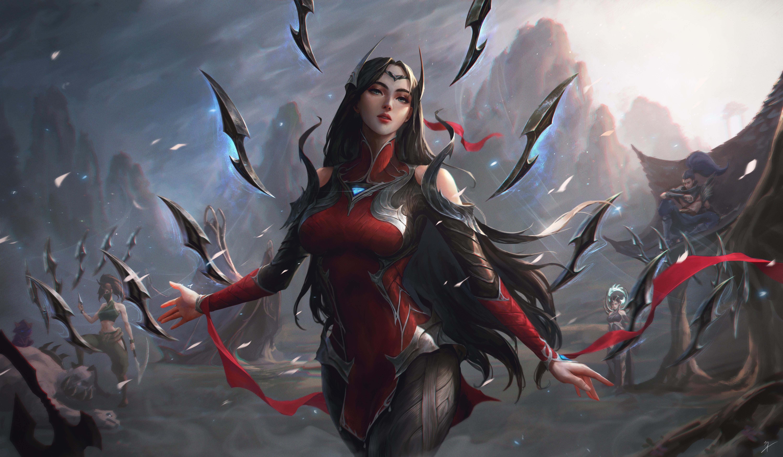 Irelia League of Legend Fan art