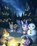 The warmest night by handelfly