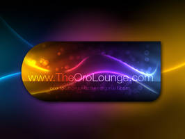 Oro Lounge Business Card Back by Javagreeen